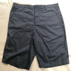 ATM Anthony Thomas Melillo Black Cotton Shorts